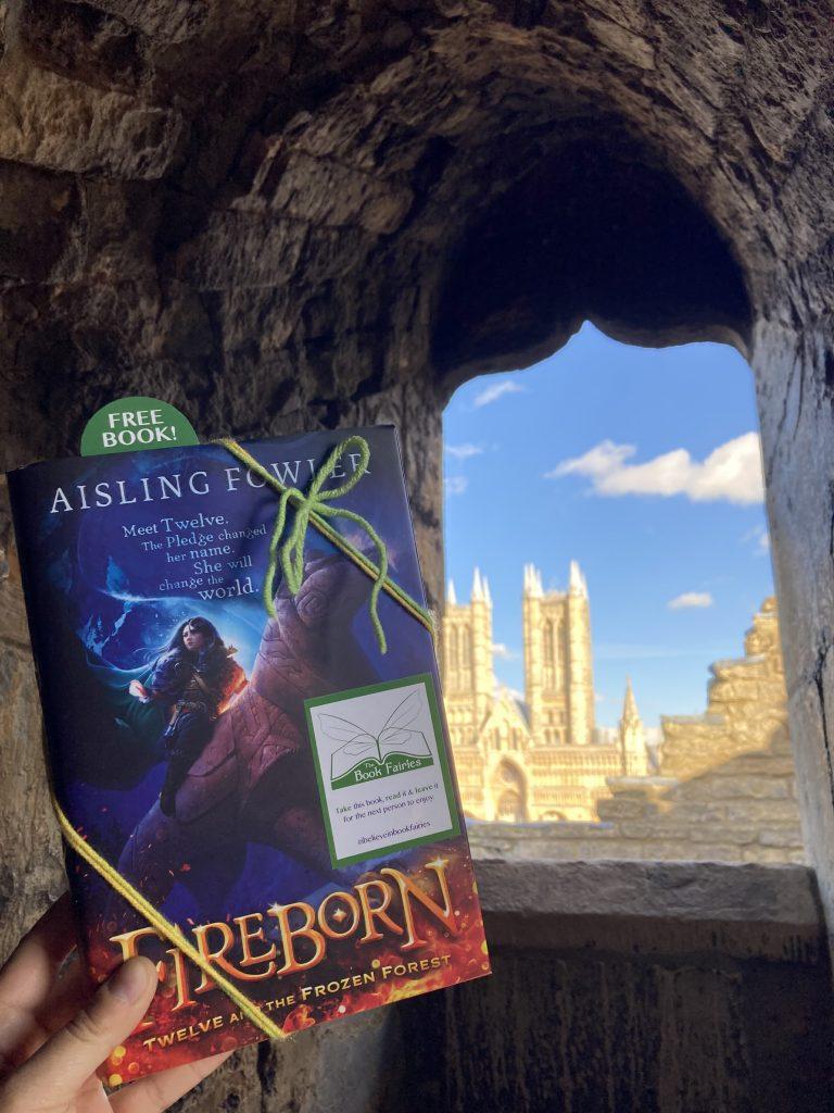 Fireborn by Aisling Fowler hidden by book fairies - Lincoln Castle