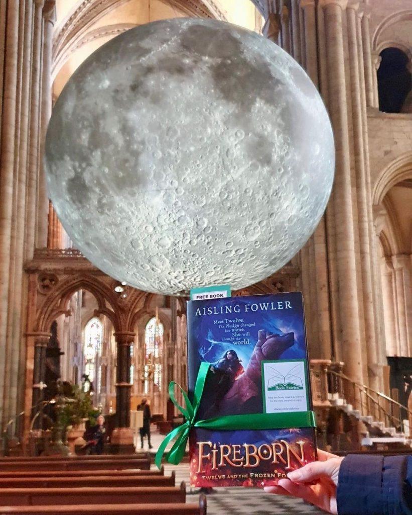 Fireborn by Aisling Fowler hidden by book fairies - Durham
