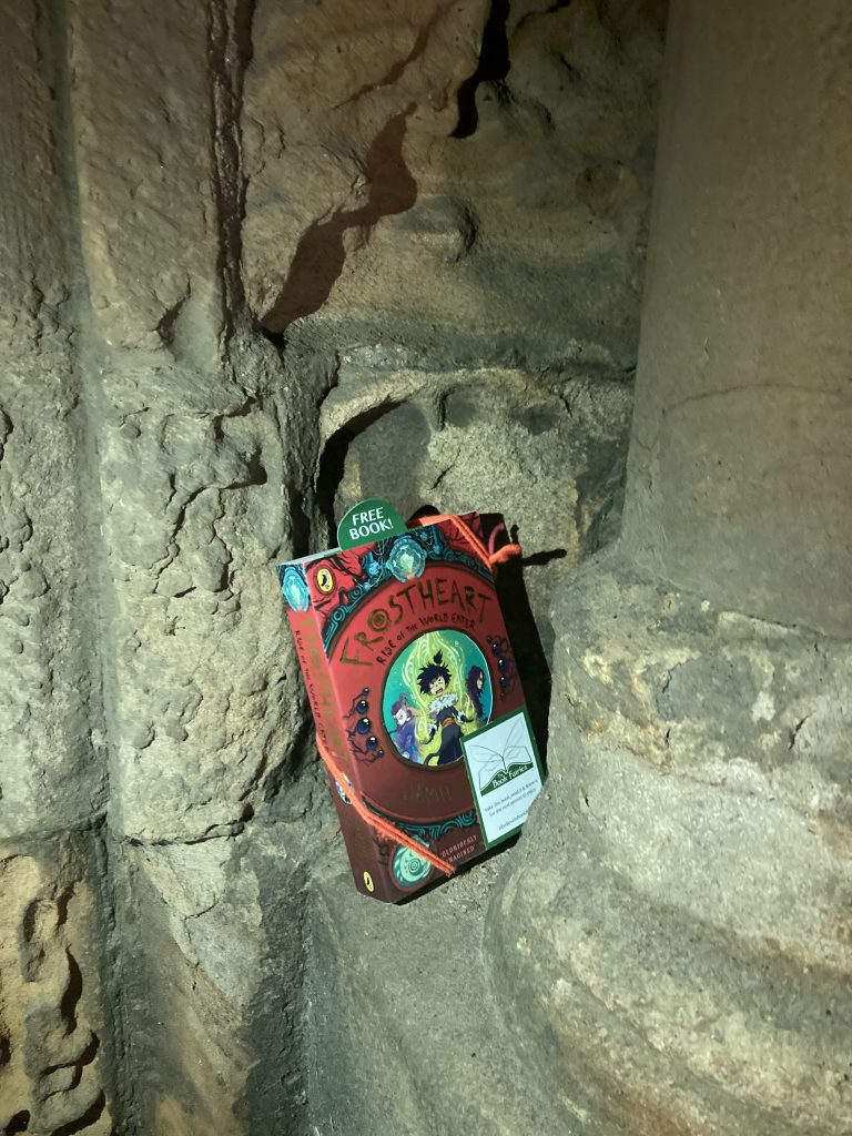 Frostheart 3 left at great locations by book fairies - Durham