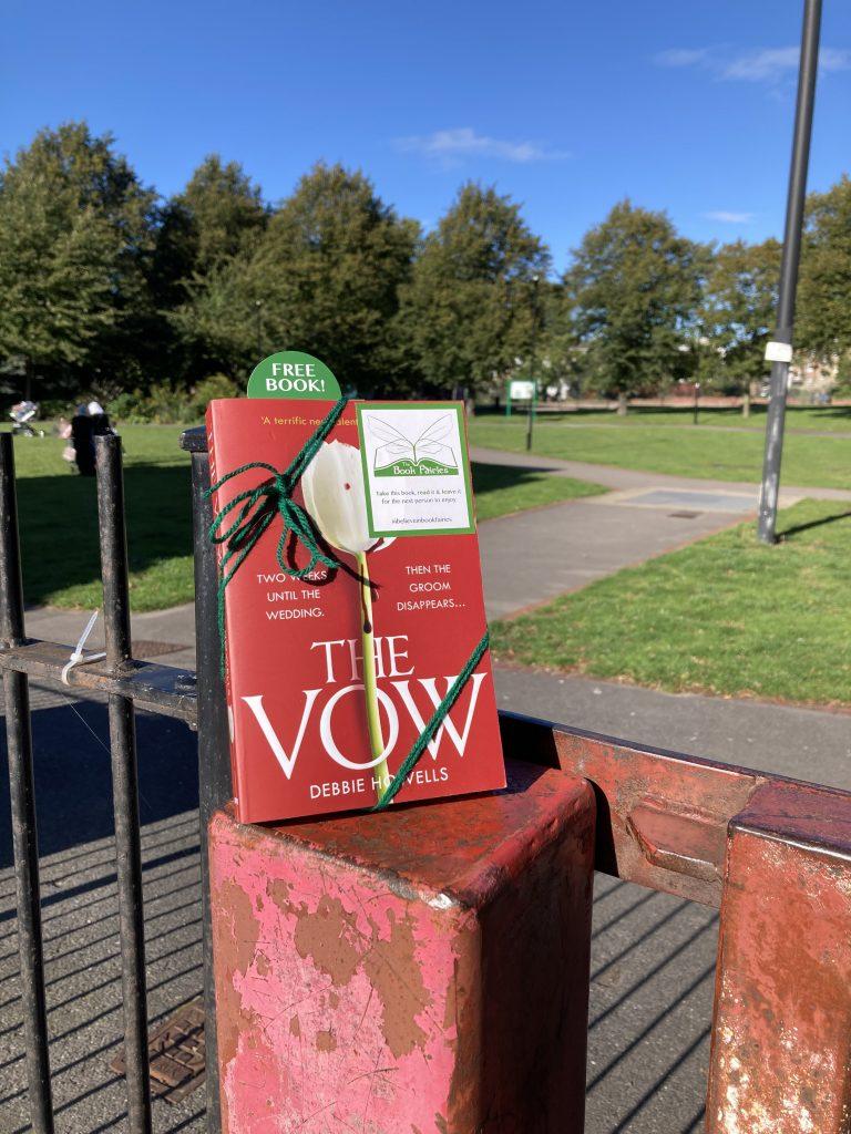 Book Fairies hide Avon Books around the UK - The Vow