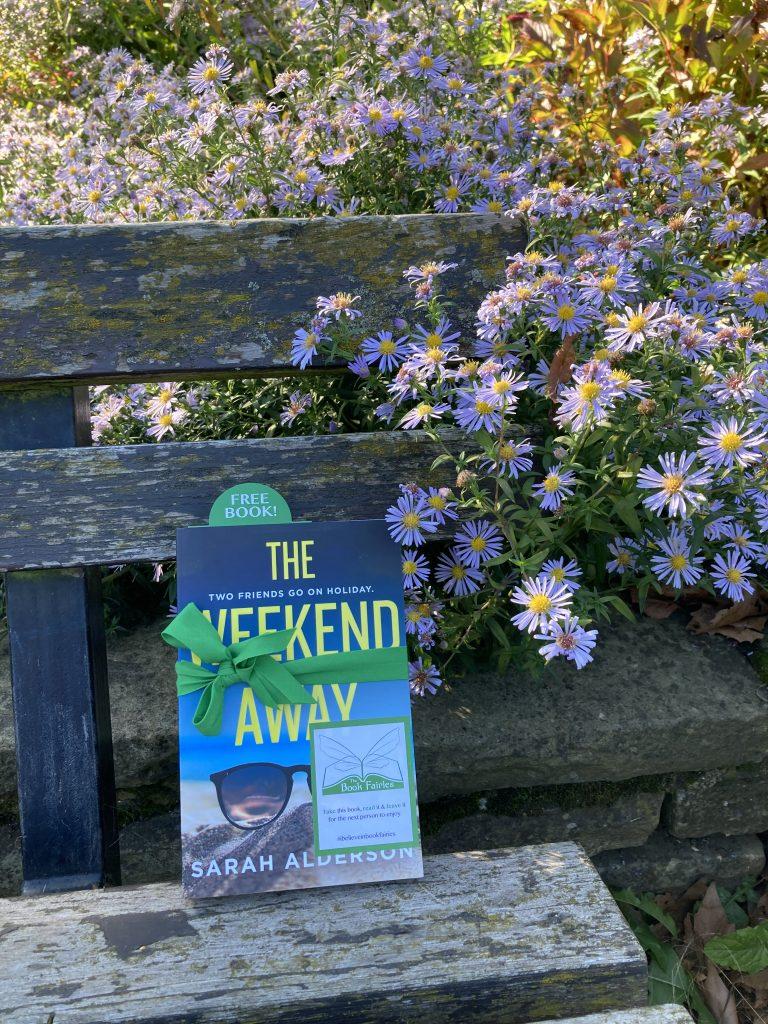 Book Fairies hide Avon Books around the UK - The Weekend Away