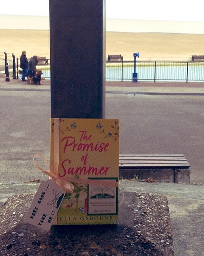 Book Fairies hide Avon Books around the UK - Promise of Summer