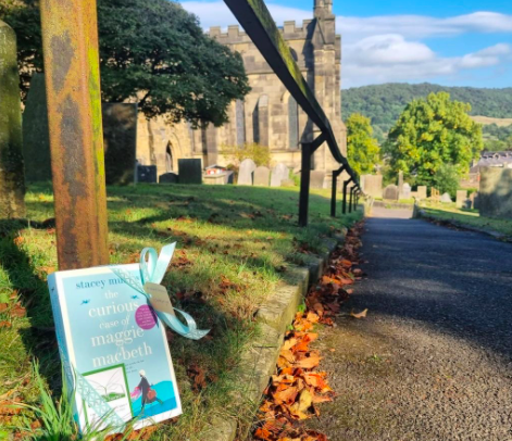 The Book Fairies and Red Door Press hide books around the UK - at a church