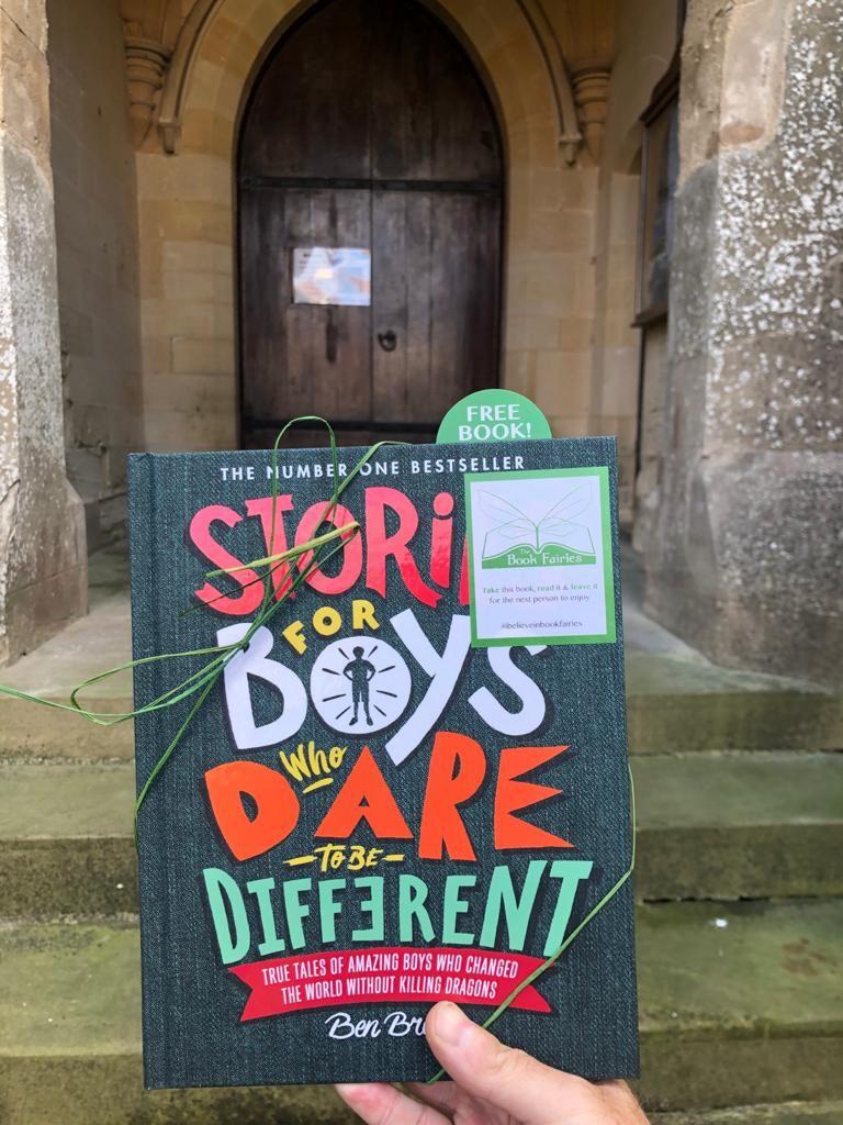 Book fairies hide Quercus books in the UK - Lincoln