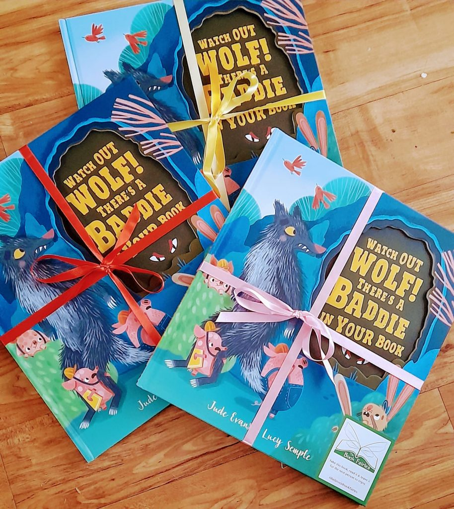 Watch Out Wolf There's A Baddie In Your Book - hidden by book fairies