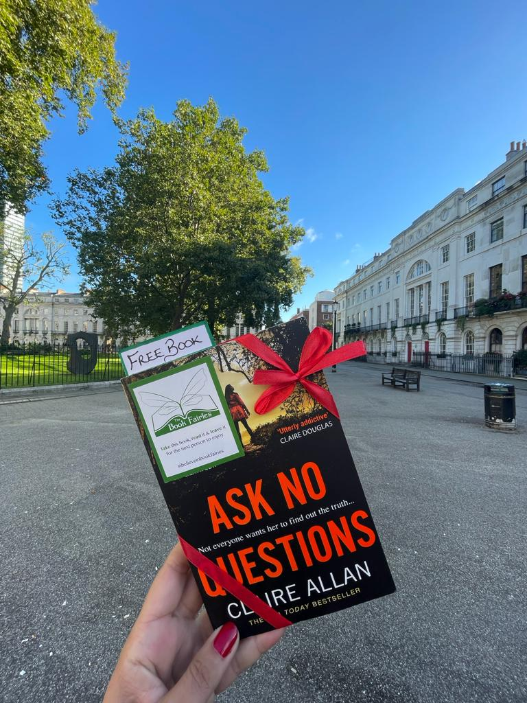 Book Fairies hide Avon Books around the UK - ask no questions