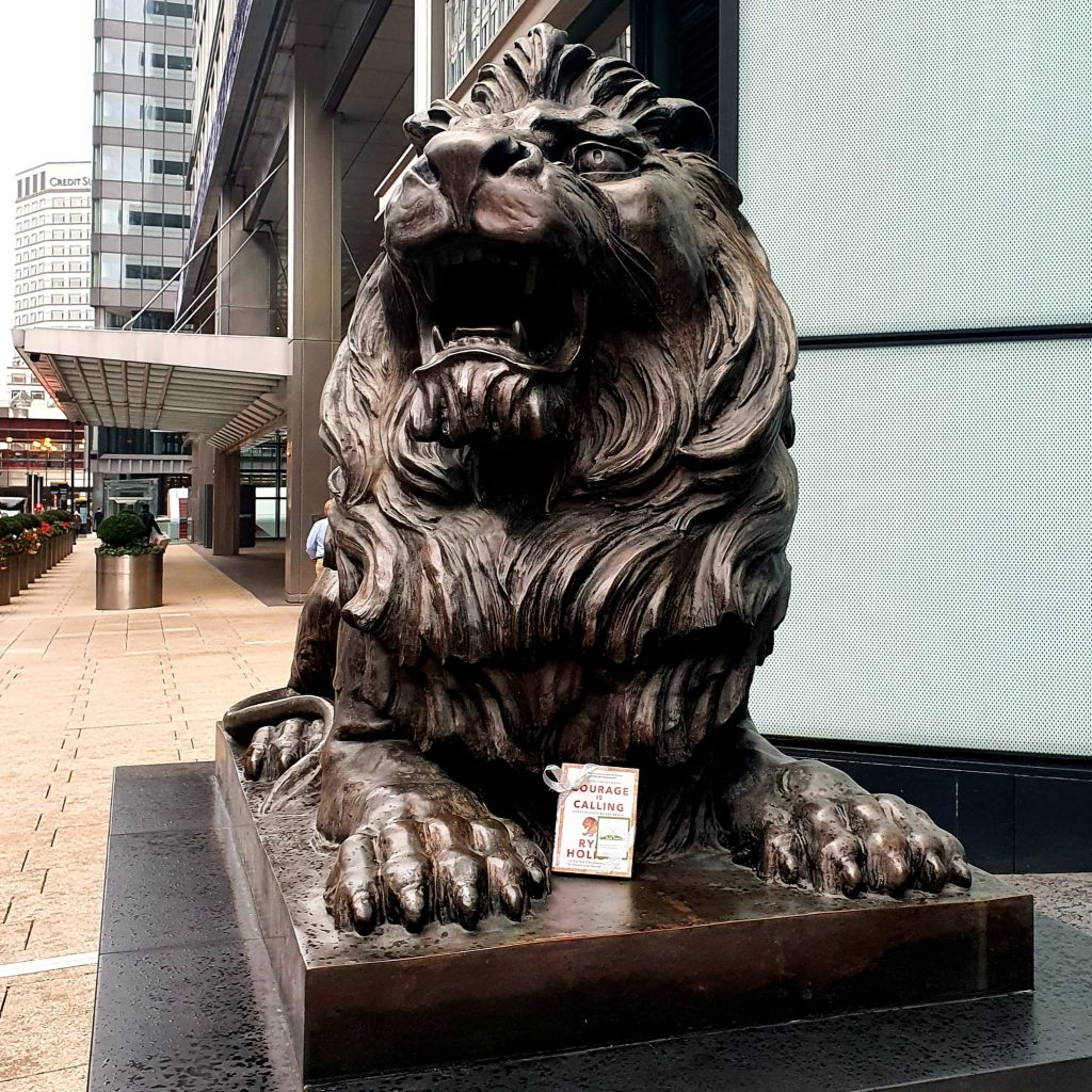 Courage is Calling by Ryan Holiday hidden by The Book Fairies - London city